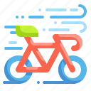 bicycle, cyclist, bike, ride, rider, racer, transport icon