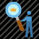 analysis, browser, crown, seo, website