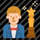 actor, avatar, cinema, movie, professions icon