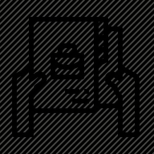 Data, jobs, portfolio, profile, resume icon - Download on Iconfinder