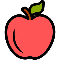 apple, education, fitness, food, health, nutrition icon