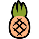 food, nutrition, pineapple, summer, tropical, vacation icon