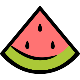 food, nutrition, summer, watermelon icon