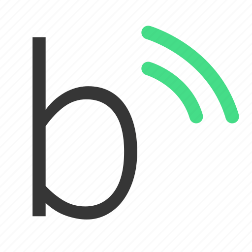 bluetooth, connection, network, server icon