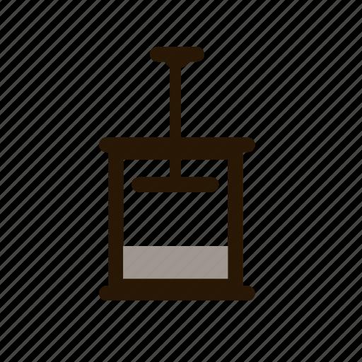 french, press icon