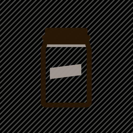 coffee jar, hipster, jar icon