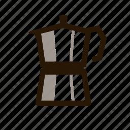 cafe, coffee, hot, kettle, tea icon