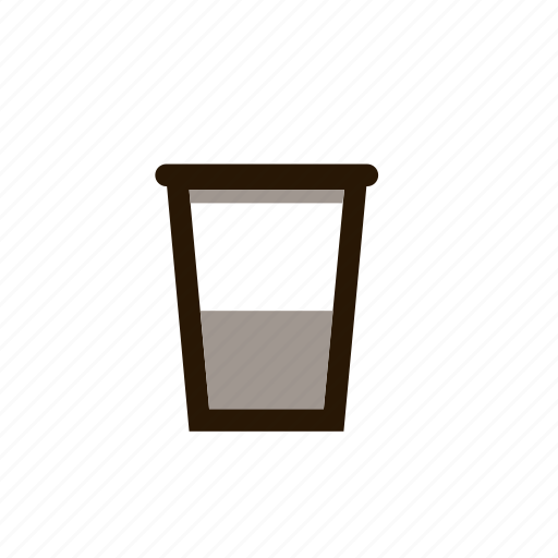 cup, drink, hot, paper, tea icon