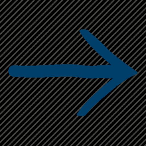 arrow, next, right, skip icon