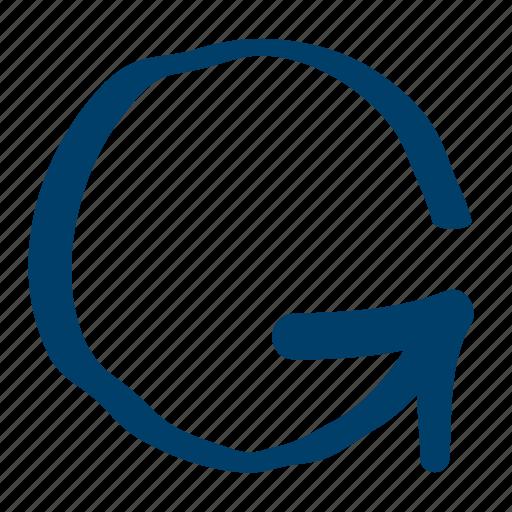 arrow, counterclockwise, rotate, synchronization icon