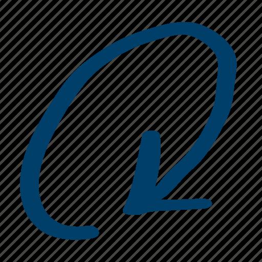 Circular, clockwise, orbit icon - Download on Iconfinder