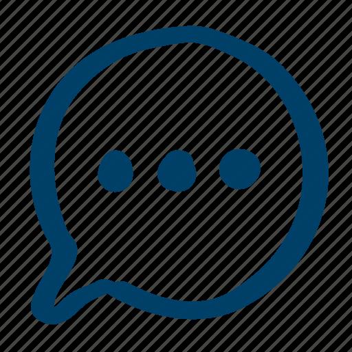conversation, share icon