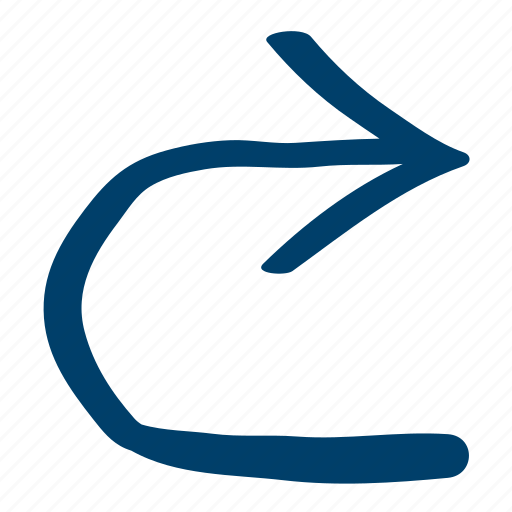 Right, turn, uturn icon - Download on Iconfinder