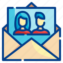mail, send, message, email, letter