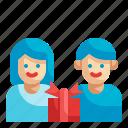 gift, box, birthday, surprise, friendship