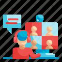 online, friend, videocall, meeting, conversation
