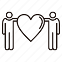 couple, day, friendship, gift, heart, love, romantic