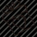 friendship, gift, heart, love, romance, valentine, wedding