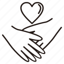 couple, friendship, gift, heart, love, romantic, wedding