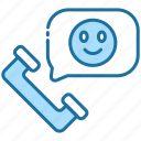 phone, mobile, communication, smiley, friendship, call, friend
