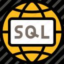 network, server, connection, internet, language, database, global