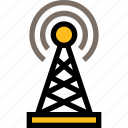 network, server, connection, antenna, satellite, signal, tower