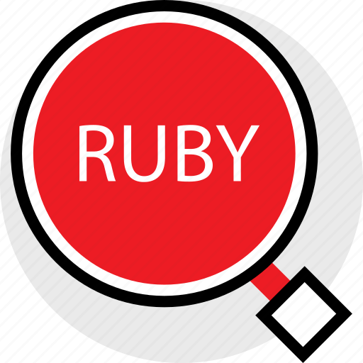coding, developer, development, find, ruby, web icon