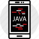 cell, coding, developer, development, java, web icon