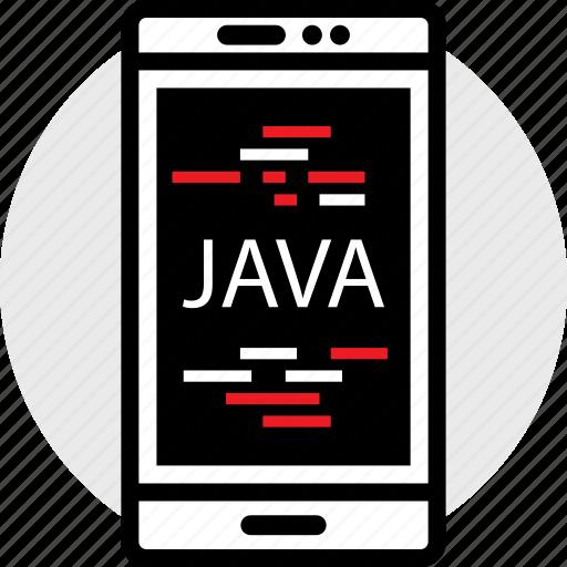 cell, coding, developer, development, java, web icon