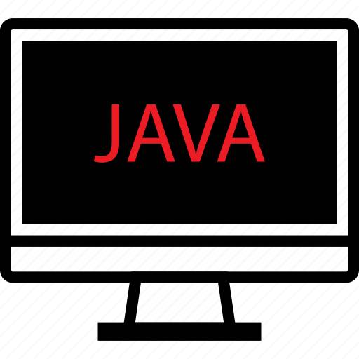 coding, developer, development, java, screen, web icon