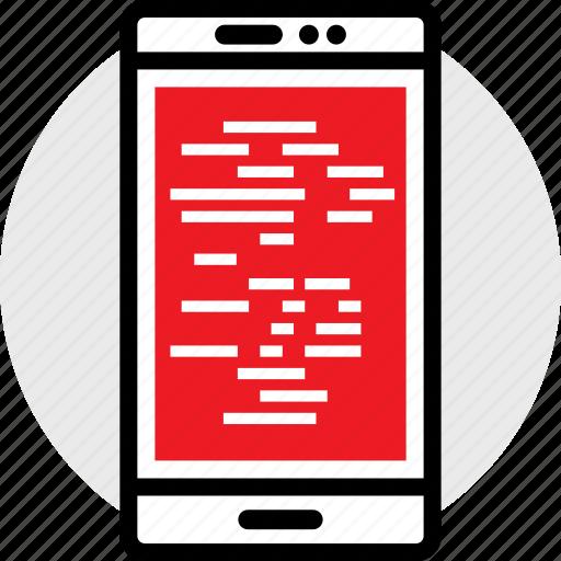 coding, developer, development, lines, web icon