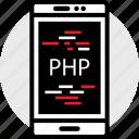 cell, coding, developer, development, php, web icon