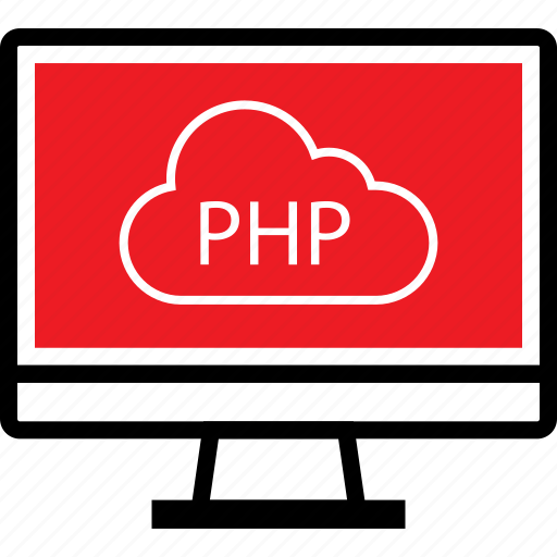 cloud, coding, developer, development, php, web icon