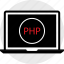 code, coding, developer, development, php, web icon