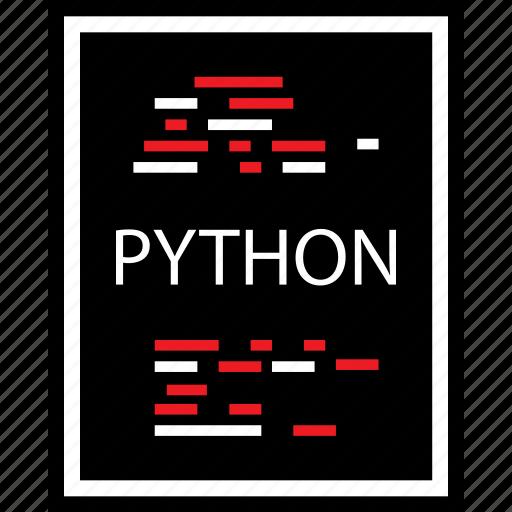 coding, developer, development, python, web icon