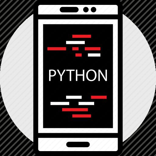cell, coding, developer, development, pythong, web icon