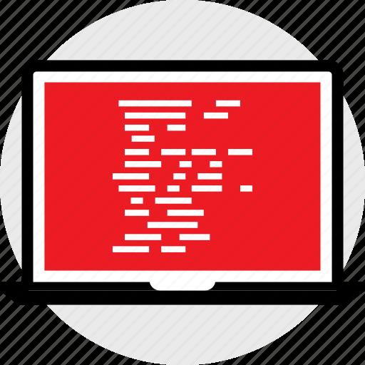 code, coding, developer, development, lines, web icon