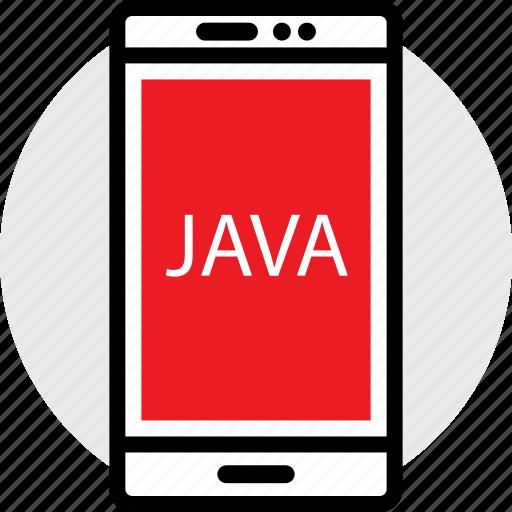 coding, developer, development, java, phone, web icon