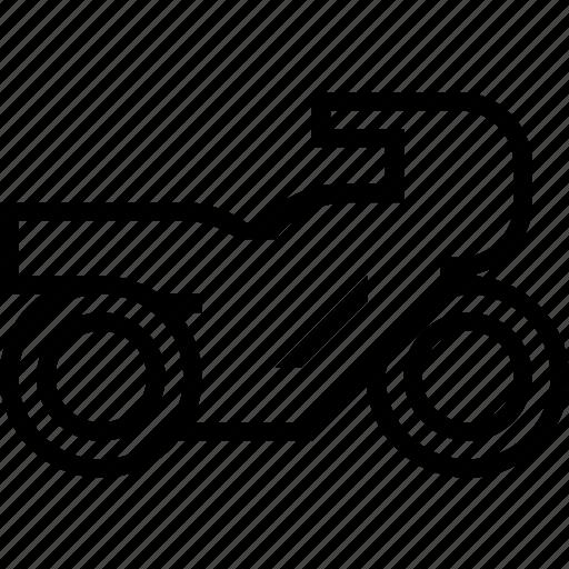 bike, sports, transport, vehicle icon