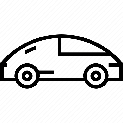 supercar, transport, vehicle icon
