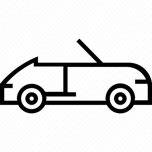 car, open, transport, vehicle icon