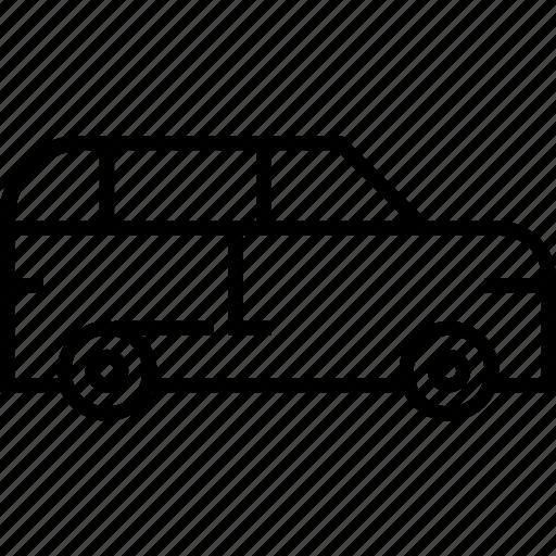 suv, transport, vehicle icon