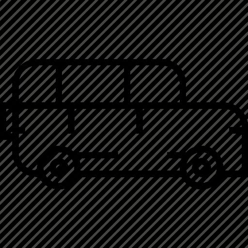 pajero, suv, transport, vehicle icon