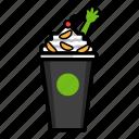 cream, dessert, frozen, fruit, health, ice, yoghurt icon