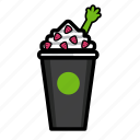 cream, dessert, frozen, fruit, health, ice, yoghurt icon