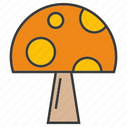 herb, mushroom, vegetable icon