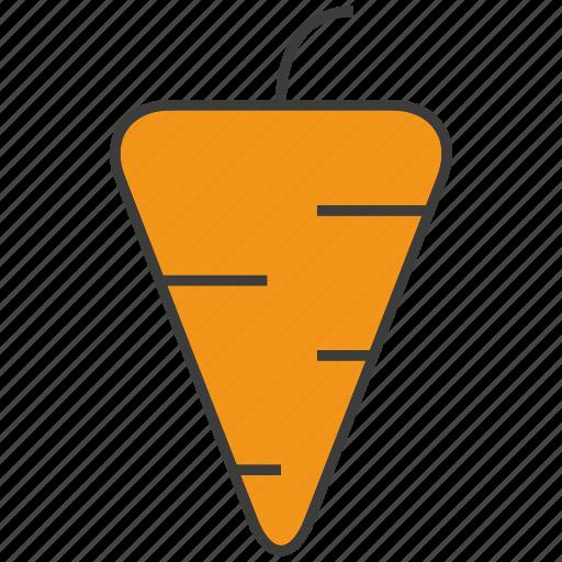 carrot, fruit icon