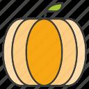fruit, pumpkin icon
