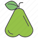 fruit, rose apple icon