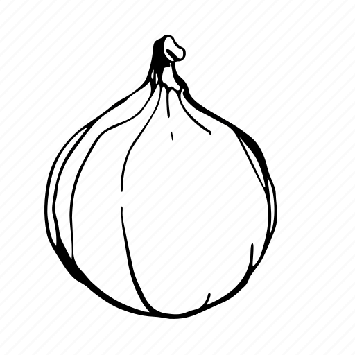fig, fruit icon